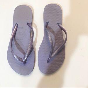 Lavender Havaianas Slim